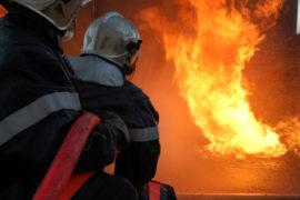 pompier incendie
