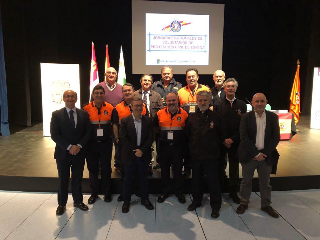 Fundacion Fuego en la Asamblea Nacional de Protección Civil